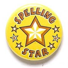 Spelling Star Badge
